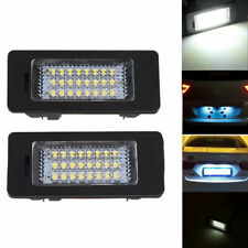 2x LED License Plate Light Number Plate Lamp For BMW E60 E70 E71 E82 E92 M3 M5