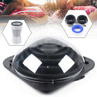 Black Outdoor Solar Dome Inground/Above Ground Swimming Pool Water Heater New