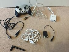 Lote de trabajo de computadora acer Antena de TV USB 1 y 2 Cable Monitor de Filtro ADSL Gamepad
