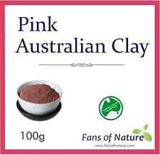 Pink Cosmetic Clay Powder - for Balancing Youthful Appearance Hydrating Mask