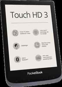 PocketBook Touch HD 3 metallic grey Brandneu Blitzversand mit DHL