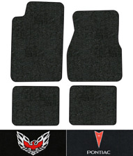 1993-2002 Pontiac Firebird Trans Am Floor Mats - 4pc - Cutpile