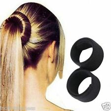 Artifice Hair Donut Bun Maker Magic Tool Sweet French Dish Roller Hair Head Band