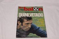 REVISTA DON BALON Nº 294 DE JUNIO 1981 QUINI VETADO POSTER CASTELLON COTIZADA