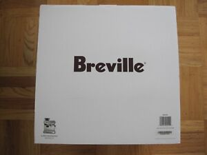 NEW IN BOX BREVILLE the BARISTA EXPRESS ESPRESSO MACHINE Brushed Stainless Steel