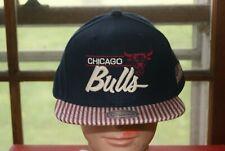 Mitchell & Ness NBA Chicago Bulls Snapback Hat Blue Red White USA Flag