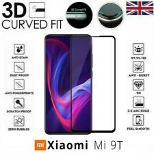 For Xiaomi Mi 9T Full 3D Tempered Glass 9H Screen Protector Cover Black Edge