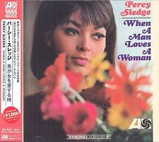 Percy Sledge When A Man Loves A Woman CD NEW SEALED Obi Strip Mono Remastered