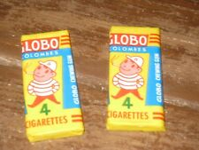 2 chewing gum ancien globo