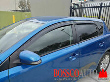 Weathershields Suitable for Toyota Corolla Hatch 2012-2018