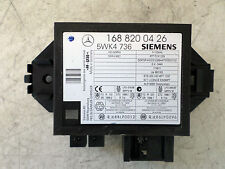 2001 MERCEDES A140 W168 5DR IMMOBILIZER CONTROL UNIT ECU - 1688200426