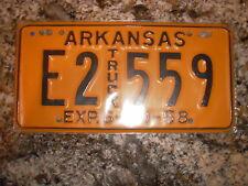 1958 ARKANSAS TRUCK LICENSE PLATE E2 559