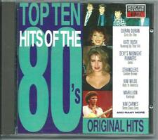 TOP TEN HITS OF THE 80's EMI UK CD DURAN DURAN KATE BUSH STRANGLERS KIM WILDE
