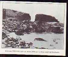 1925  --  CHERBOURG TEMPETES DE MARS 1894  H727