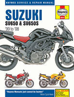 Suzuki SV650 SV650S 1999-2008 Haynes Manual 3912 NEW