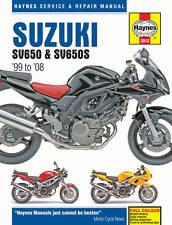 Suzuki SV650 SV650S 1999-2008 Haynes Manual 3912 Nuevo