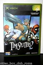 TIME SPLITTERS 2 GIOCO USATO BUONO STATO XBOX EDIZIONE ITALIANA PRIMA STAMPA