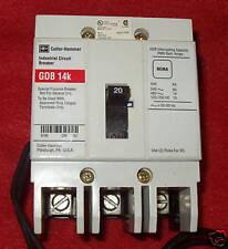Cutler-Hammer Circuit Breaker, 20 A, 3-Pole, GDB3020DS1