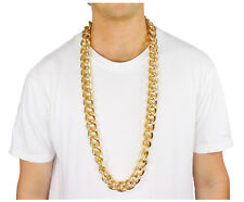 """40"""" Heavy Rope Link GOLD Pimp CHAIN OLD SCHOOL RAPPER Costume Bling!!"""