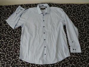 Versace 19-69 abbigliamento sportico SRL White Men's Modern Fit XL 17.5