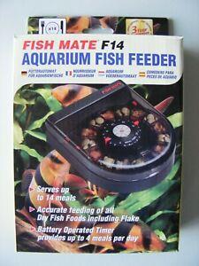 FISH MATE F14 AUTOMATIC AQUARIUM FEEDER BRAND NEW