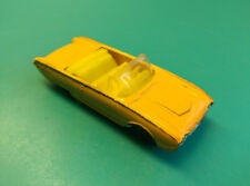 Old Vtg Collectible Diecast Husky Ford Thunderbird Toy Car Made In Great Britain