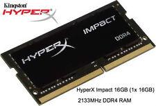 Hyperx impacto 16GB 1X16GB módulo de memoria DDR4 2133MHz computadora portátil PC4-17000 SO-DIMM