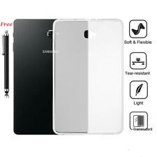 Clear Soft Silicone TPU Gel Case Back Cover For Samsung Galaxy Tab A E S2 S3 3 4