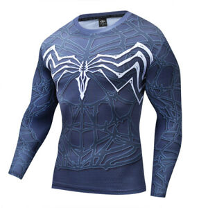 Venom 2 Let There Be Carnage 3D T-Shirts Superhero Spiderman Sports T-Shirts New