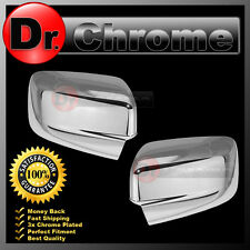09-17 Dodge Ram without Turn Light Chrome plated Full ABS Mirror Cover a pair