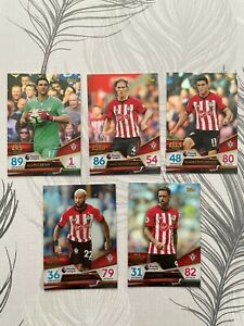 Topps Premier Gold Southampton Set, Match Attax Trading Cards 2018/19