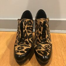 Boutique 9 Wykoff Wedge Leopard Sneakers 7.5