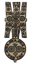 Bwa Bobo Masque planche Nwantantay Nawantante polychrome  Burkina Faso - 6343