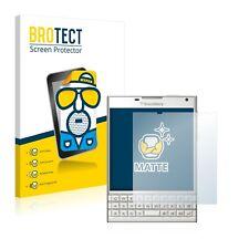 2x Film Protection Mat pour BlackBerry Passport Protecteur Ecran