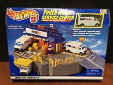 Hot Wheels 1998 Fedex World Service Center Playset Factory Sealed Dela1312