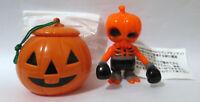 Secret Base Halloween Skull Brain with Pumpkin Vinyl Sofubi Toy Japan