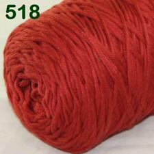 Sale New 400gr Cone Yarn Soft Cotton Super Bulky DIY Hand Knit Wrap Shawls 18