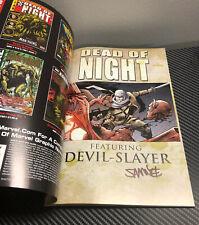 SIGNED Samnee Dead of Night Devil Slayer TPB 1st Print 2009 UNREAD HIGH GRADE