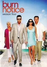 Burn Notice ~ Season Four ~ New Factory Sealed 4-Disc DVD Set ~ FREE Shipping
