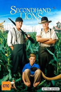 SECONDHAND LIONS DVD haley osment R4 michael caine 2003 drama Rare Free Post