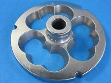 #32 x  w/ HUB STAINLESS Meat Grinder Sausage Stuffer Stuffing disc die Plate