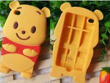 for iPod Touch 4th Gen - Soft Silicone Rubber Cover Skin Case Winnie the Pooh