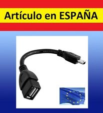 Cable adaptador USB hembra a micro USB audio OTG HTC movil samsung tablet pc GPS
