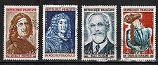 1965 - Timbre France-OBL -Série - 4 Val - Celebrites - Stamp -Yt.1442/5 - OB.28