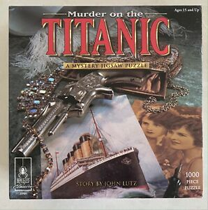 Murder on the Titanic Mystery jigsaw puzzle 1,000 piece
