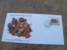 1979 World Wildlife Fund WWF First Day Cover- Grenadines of ST Vincent -Tortoise