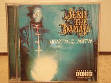 JERU THE DAMAJA - WRATH OF THE MATH (CD)  1996!!!  RARE!!!  DJ PREMIER!!!