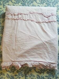 Simply Shabby Chic King Size Pink Ruffle Duvet Cover