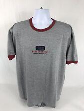 VTG 90's Brekenridge Mountain Gear Short Sleeve Ringer T-Shirt Size XL