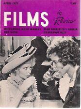 FILMS IN REVIEW digest April 1973 Our Gang Jean Negulesco Samuel L. Peeples